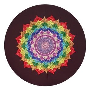 Meditatiekussen Veelkleurige bloem